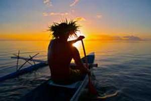 Risultati immagini per coucher de soleil bora bora